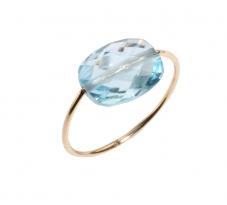 Bague Friandise topaze bleu