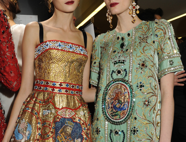 Dolce & Gabbana details fall 2013 - 2014 RTW www_julesfashion_com jules fashion blog 2 2
