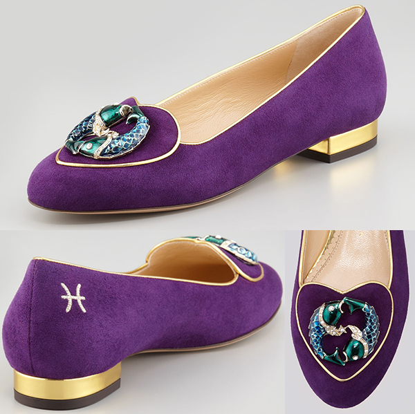 Charlotte-Olympia-Birthday-Pisces-Zodiac-Suede-Smoking-Slipper-in-Purple