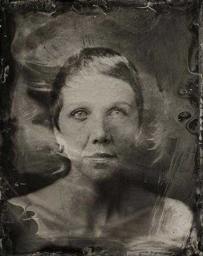 2014 Sundance TIn Type Portraits - Maggie Gyllenhaal