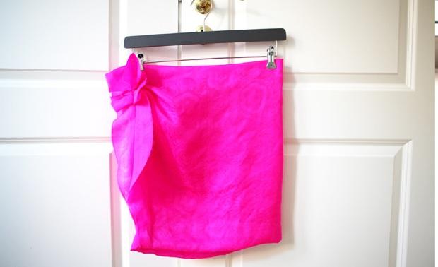 isabel marant pink skirt